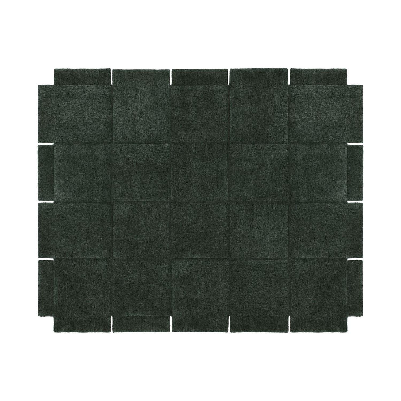 Design House Stockholm-Basket Carpet 245x300 cm, Green