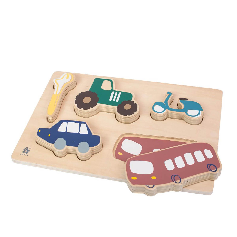 Wooden pussel, Little Driver