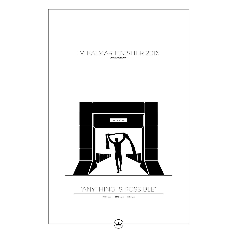 Ironman Kalmar Poster 61x91cm