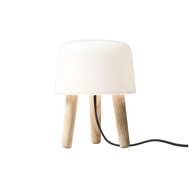 Bilde av &Tradition-Milk Bordlampe, Ubehandlet Ask/Svart Ledning