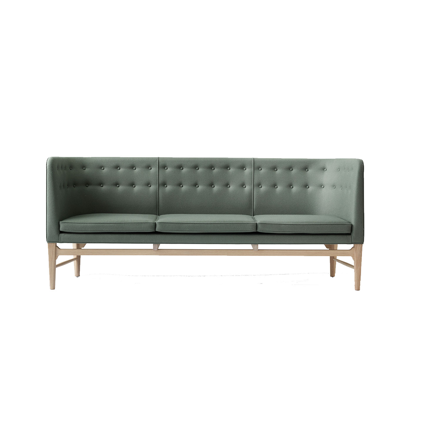 Bilde av &Tradition-Mayor Sofa Aj5, Hvitoljet Eik/Divina 3/944