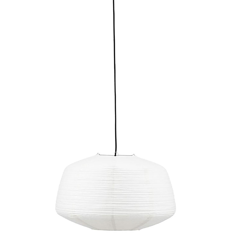 House Doctor-Bidar Lampeskærm 50cm, Hvid