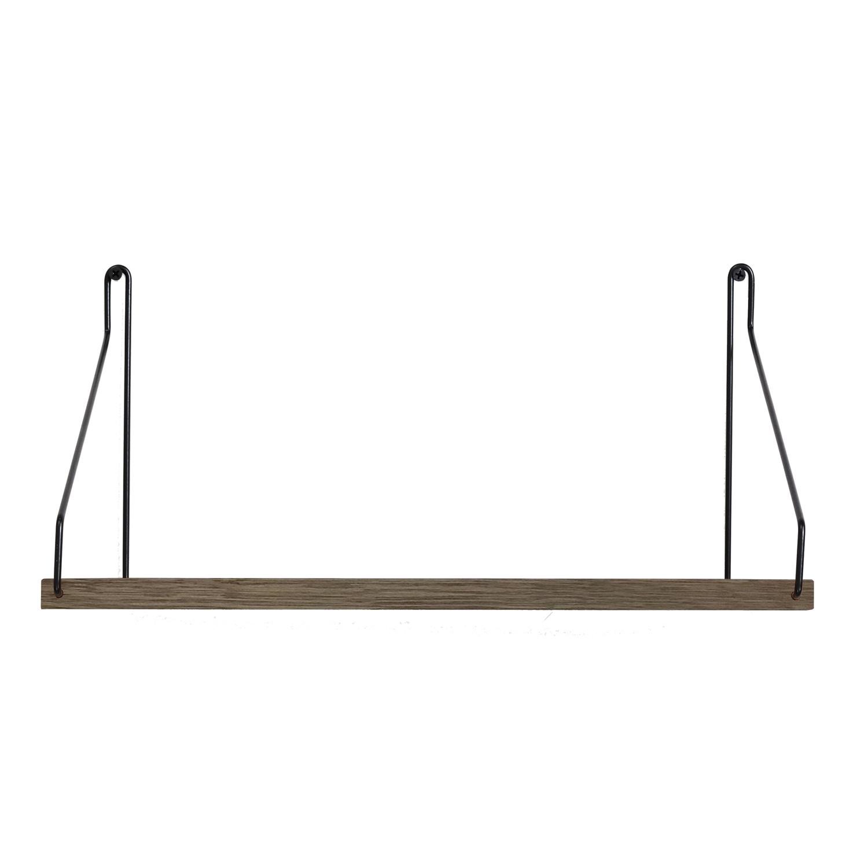 Frama-Dark Shelf D20 W40, Brackets in Black