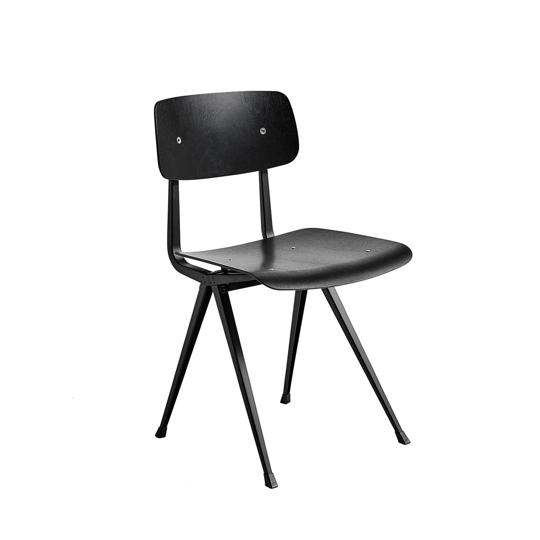Result Chair Stol, Svart