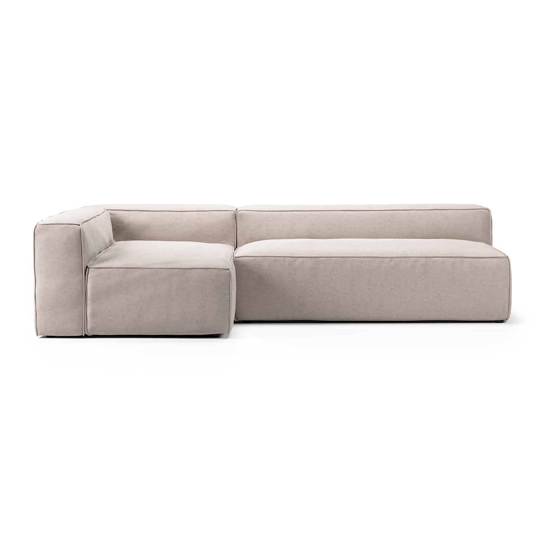 Grand 3-Seat Lounge Sofa Left, Mine Shell 196, Decotique