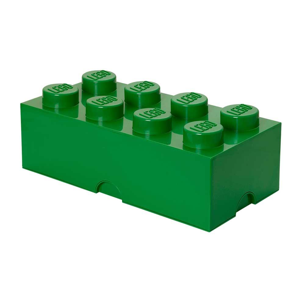 Lego Förvaringslåda 8, Mörkgrön