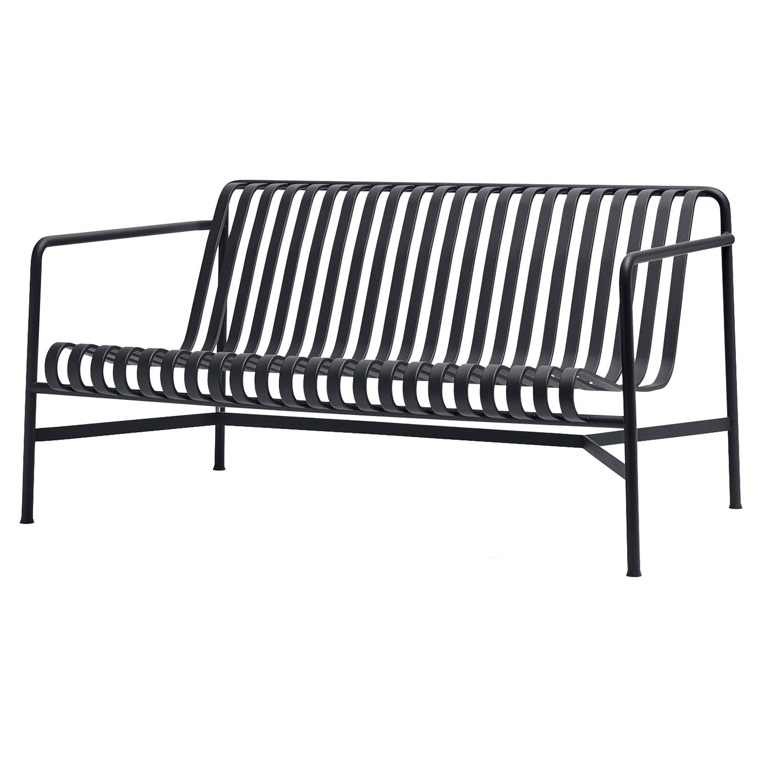 Palissade Loungesoffa, Anthracite