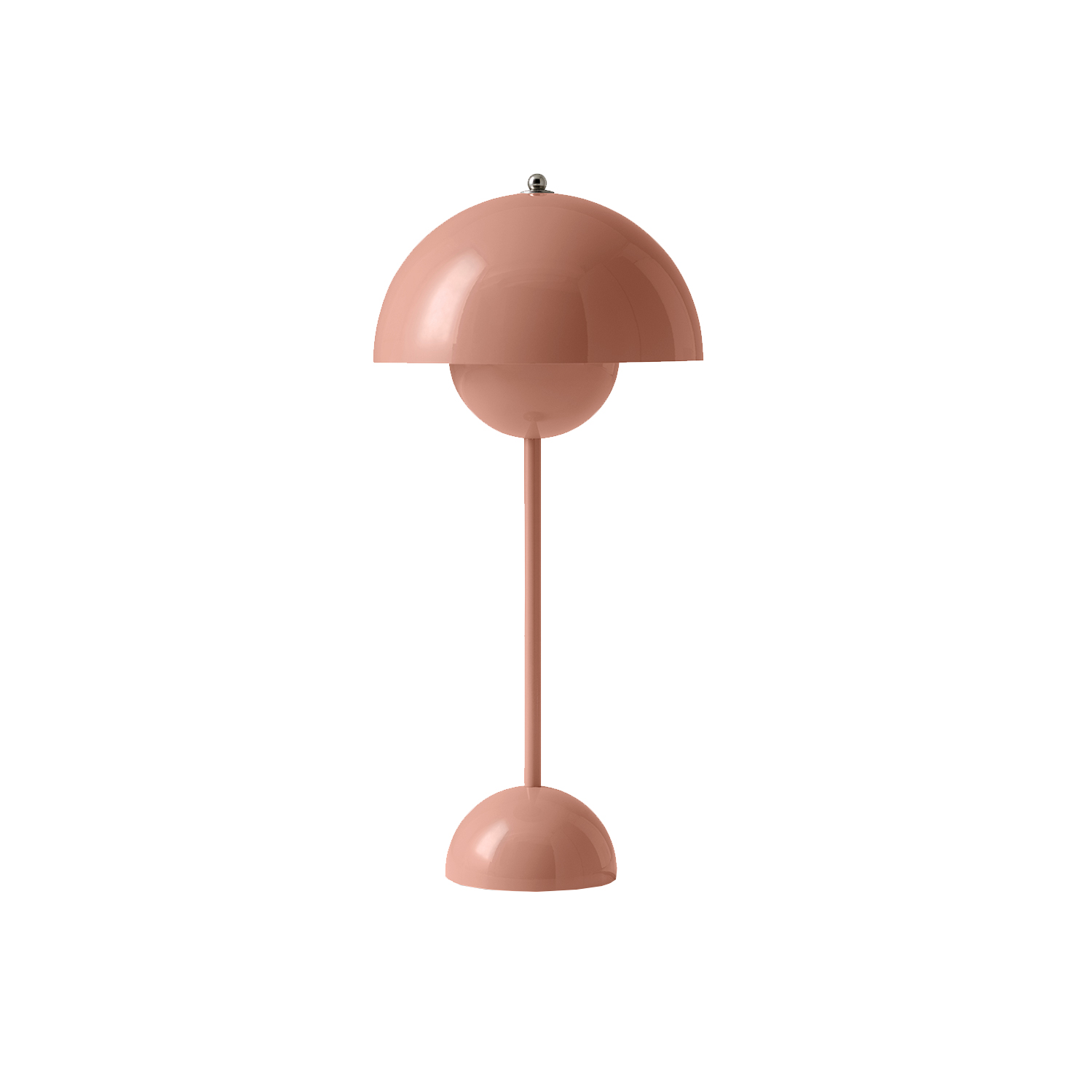 Bilde av &Tradition-Flowerpot Bordlampe Vp3, Beige/Rød