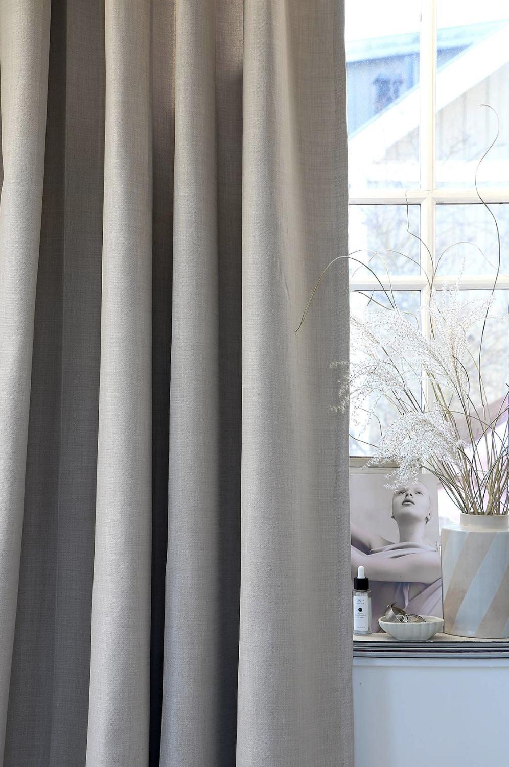 Lyx Hotellmörkläggning Gardin 290x250 cm, Natur