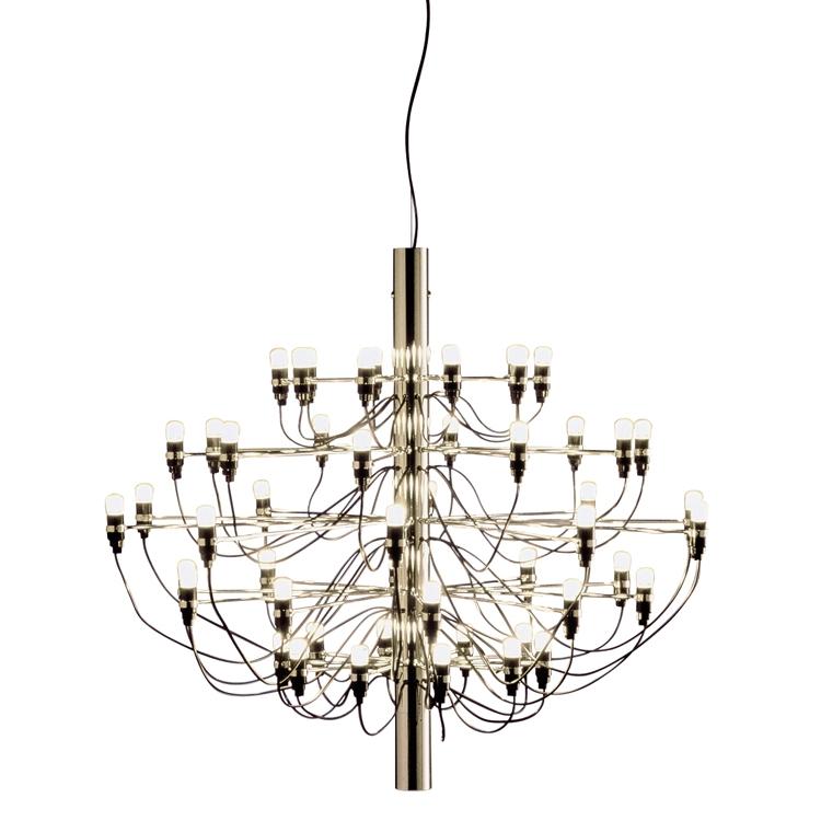 2097/50 Ljuskrona LED, Mässing