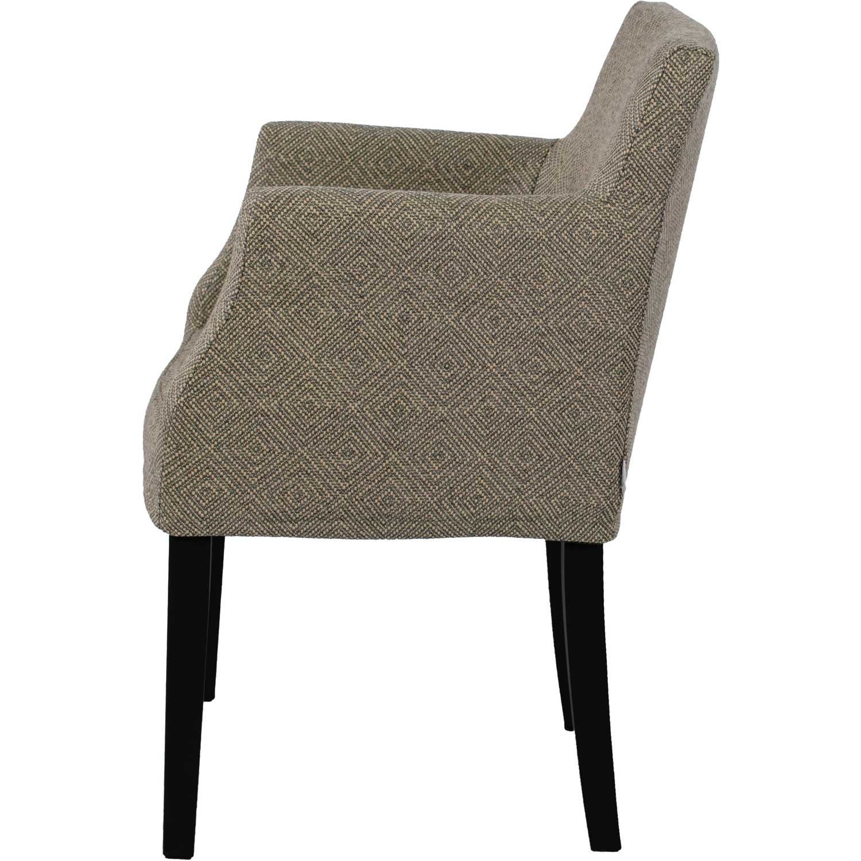 Brooklyn Chair Loose Cover, Sv. Westray Noir 24