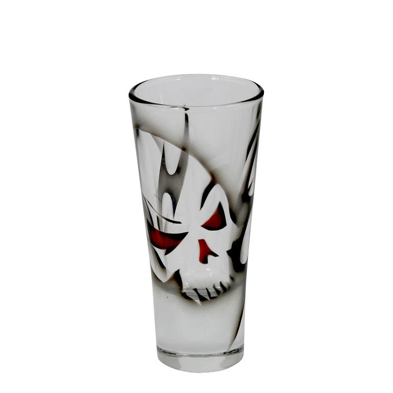 Dödskalle Shotglas, 2-Pack