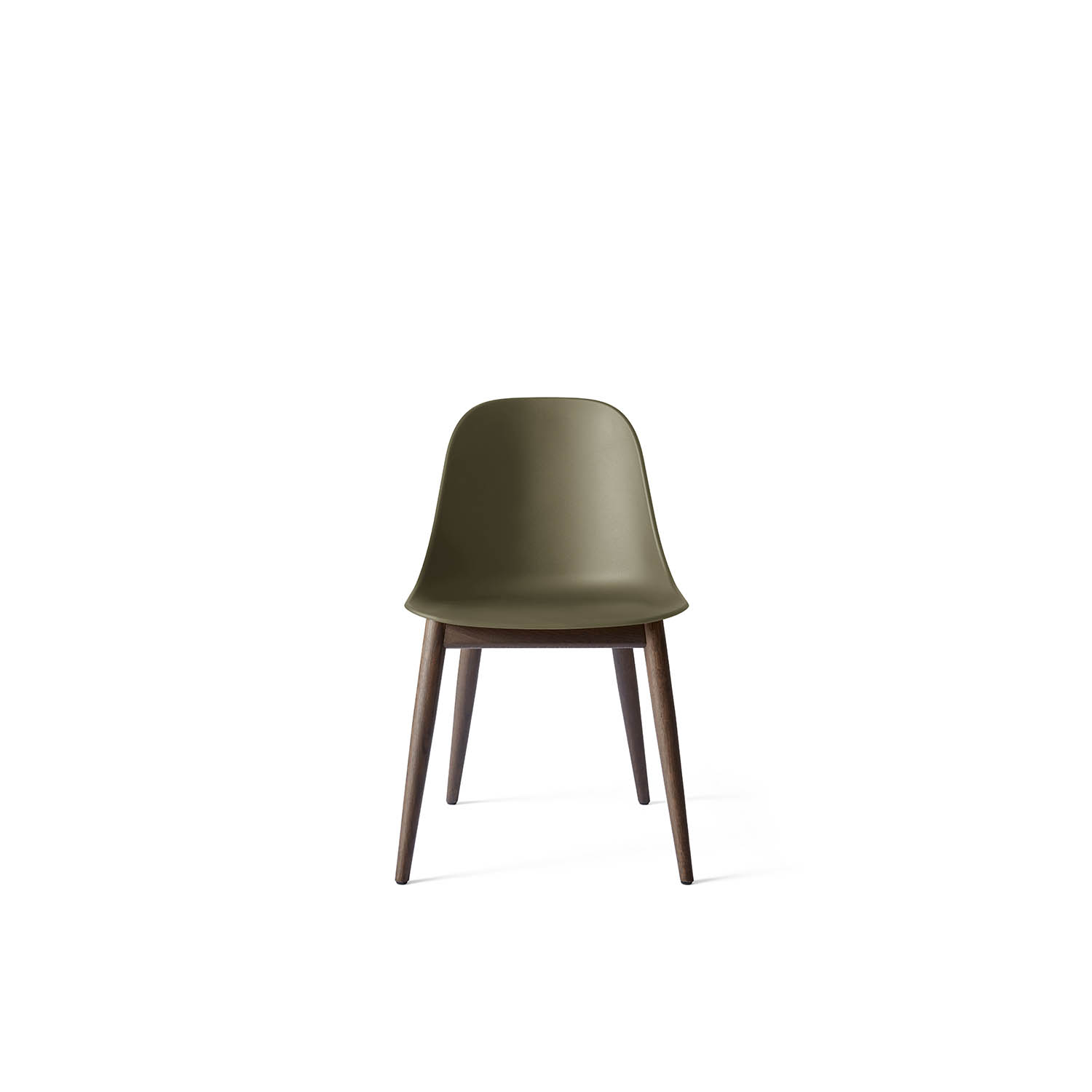 Harbour Side Chair, Dark Stained Oak/Olive Shell