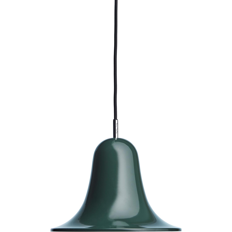 Verpan-Pantop Pendant 23 cm Pendant, Dark green