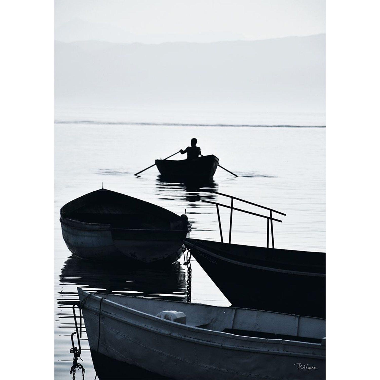 House of Beatniks-Rower On The Lake I Plakat, 30X40