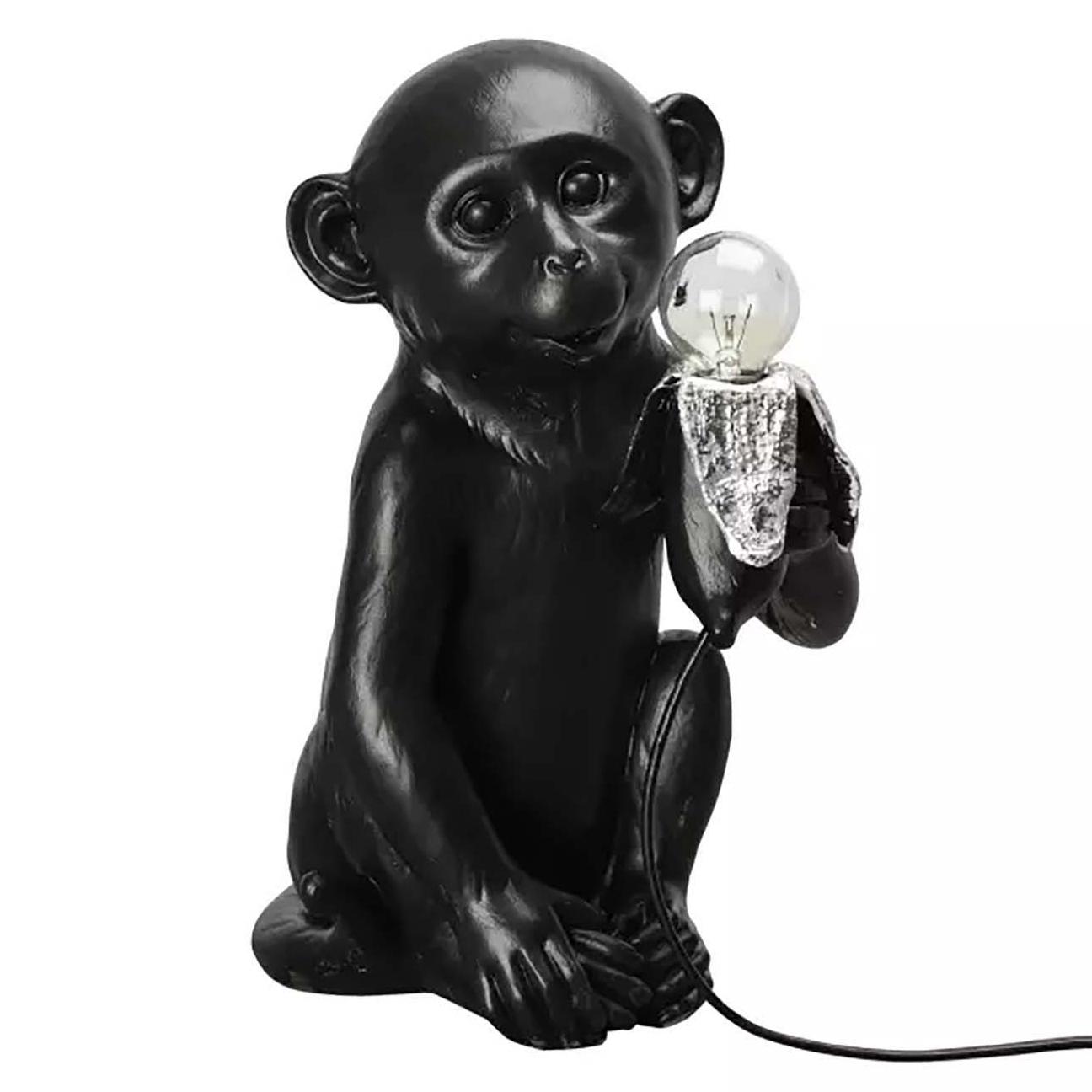 Bilde av By On-Banana Monkey Bordlampe, Svart