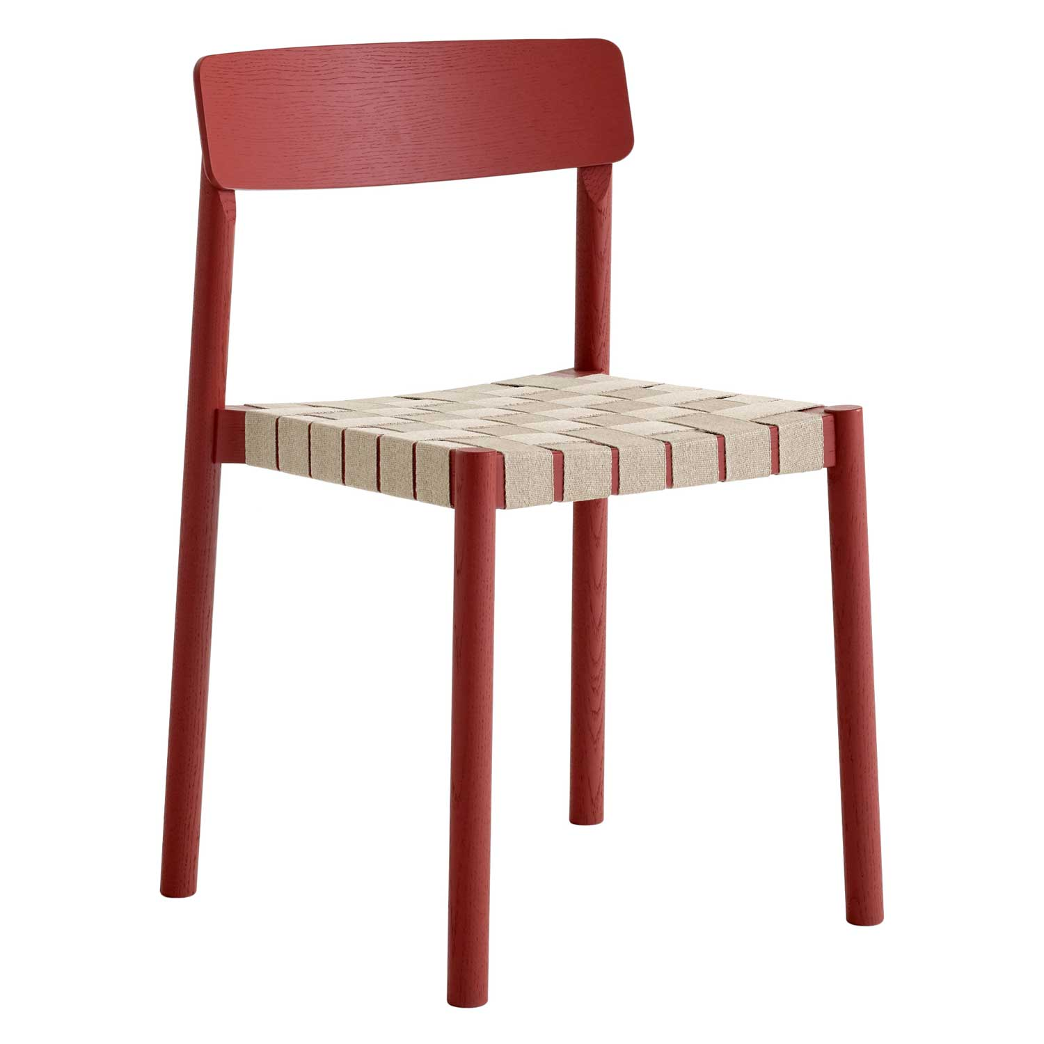 Bilde av &Tradition-Betty Chair TK1 Chair, Red/natural