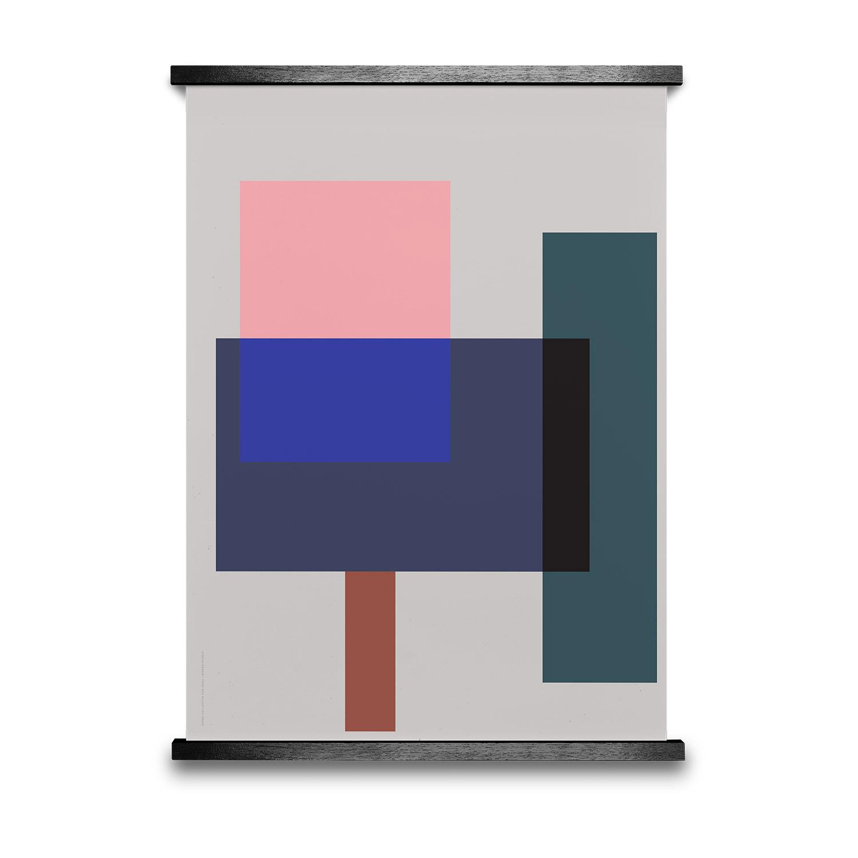 Bilde av Paper Collective-Wrong Geometry 02 Poster 50x70cm