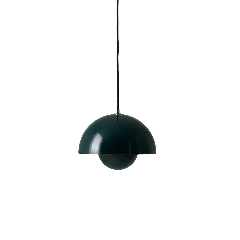 Bilde av &Tradition-Flowerpot Pendel Vp1, Mørk Grønn