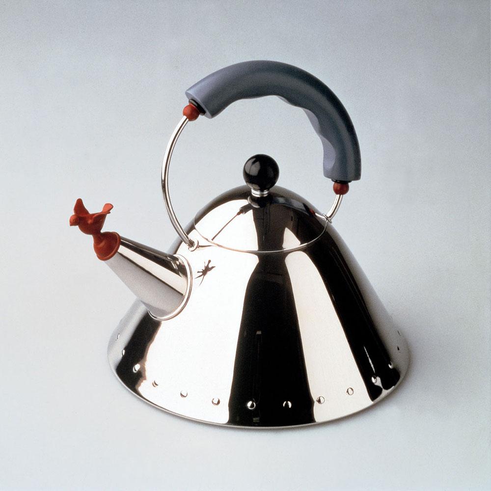 Wonderful Vannkjele, Rustfritt stål, 2l, Sort - Alessi @ RoyalDesign.no ZU-37