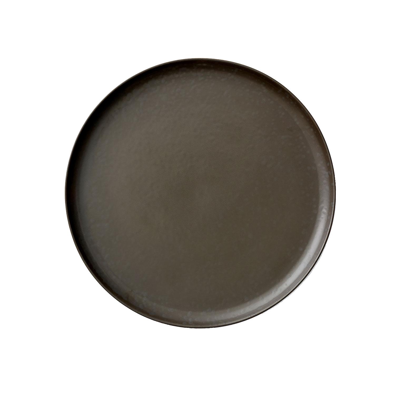 Menu-New Norm Tallerken 27,5 Cm, Dark Glazed