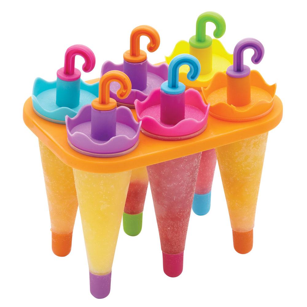 Image of Kitchen Craft-Let's Make Eisform, Regenschirm 6-tlg.