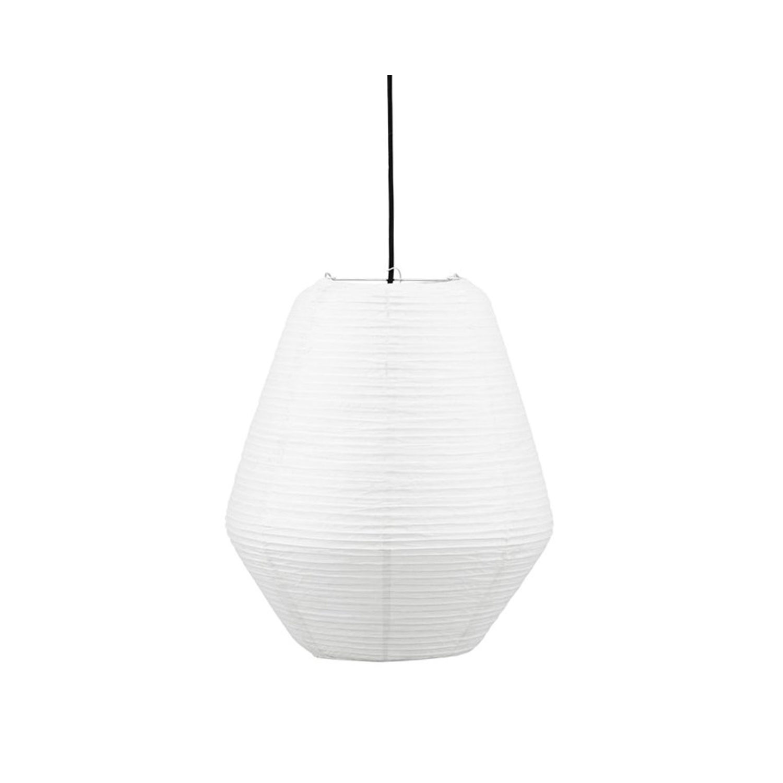 House Doctor-Bidar Lampeskærm 36cm, Hvid