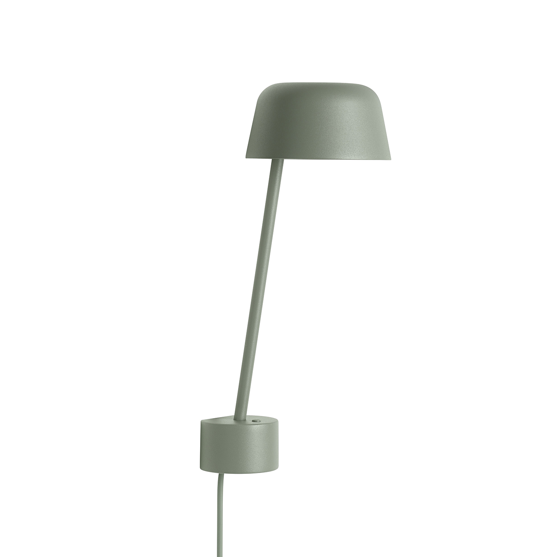 Lean Vägglampa, Dusty Green