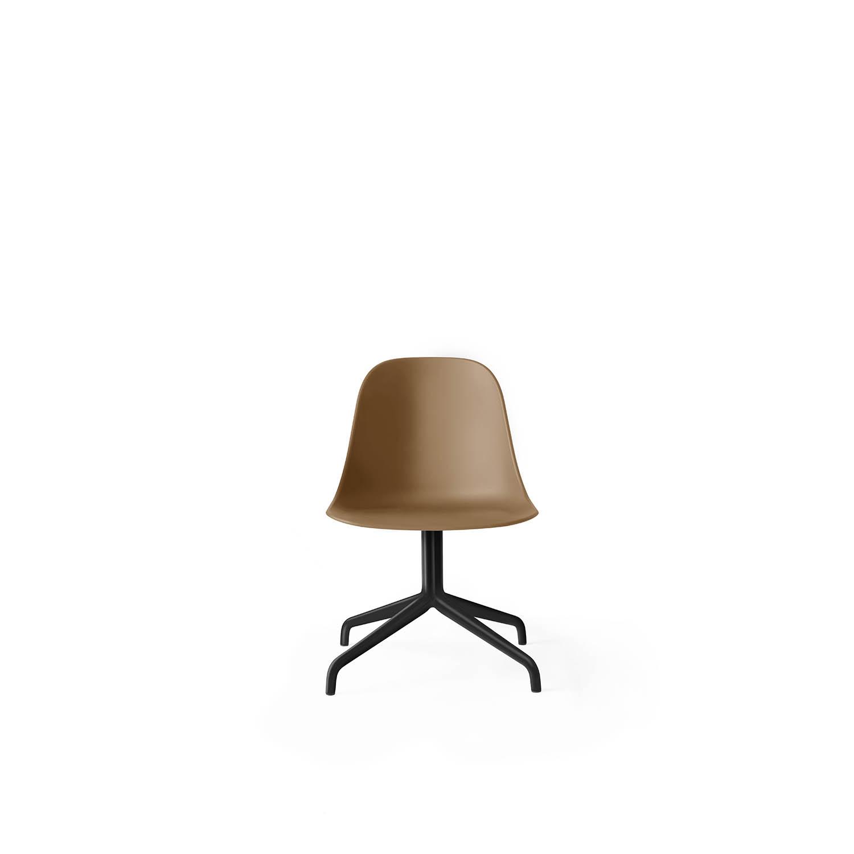 Harbour Side Chair, Black Swivel/Khaki Shell