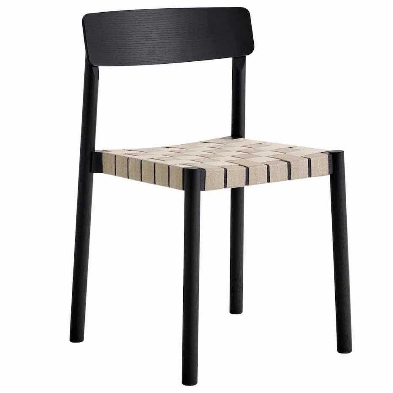 Bilde av &Tradition-Betty Chair TK1 Chair, Black/natural