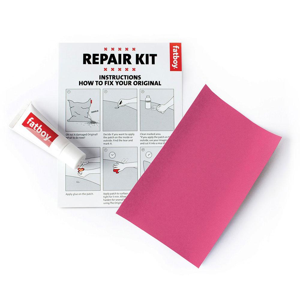Repair Kit Nylon, Ljusrosa