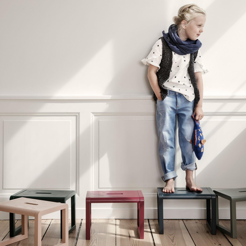 Little Architect Stol, Grå Ferm Living KIDS @ RoyalDesign.no
