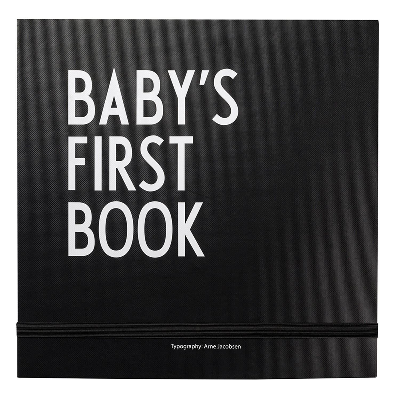 Baby´s First Book Köns- och Religionsneutral, Svart