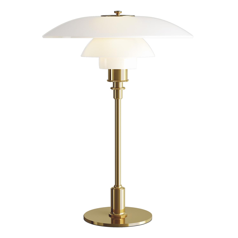 Bilde av Louis Poulsen-PH 3 1/2-2 1/2 Bordlampe, Sort Metalliserte