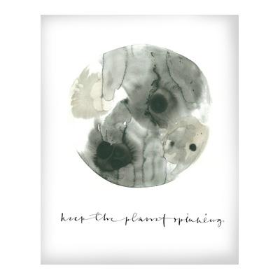 Bilde av Ylva Skarp-The Planet Poster 70x100 cm