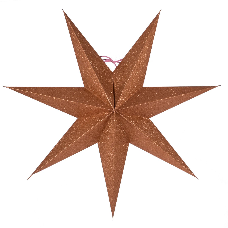 Tilly Juldekorationsstjärna 60 cm, Koppar