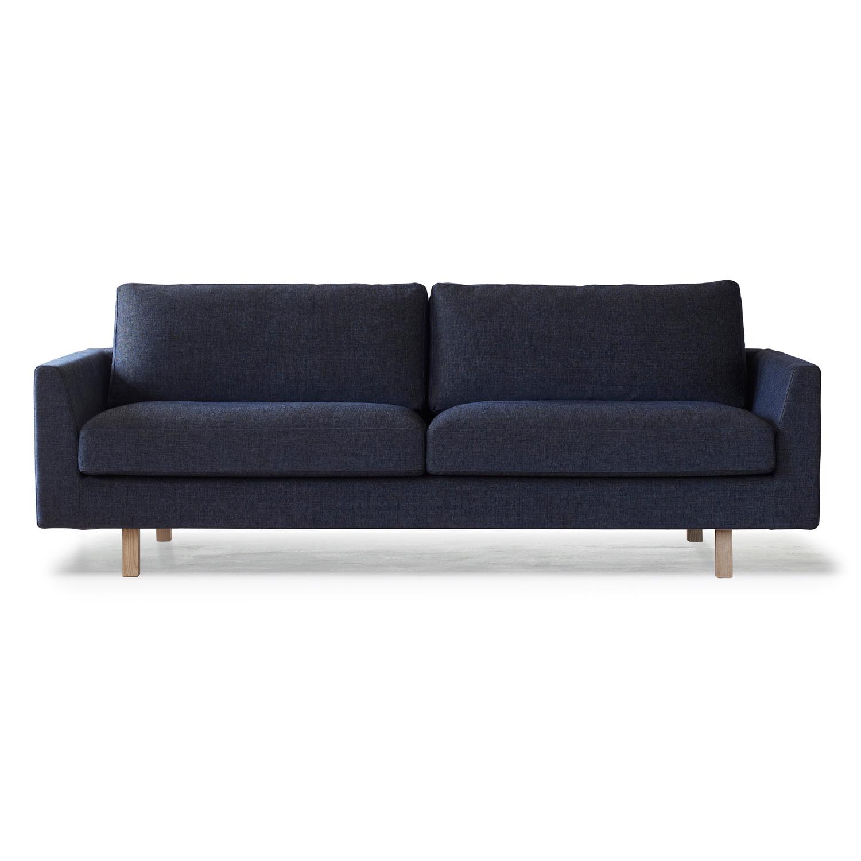 Stay 3-Sits Soffa Crevin Devine, Mörkblå/Ask Natur