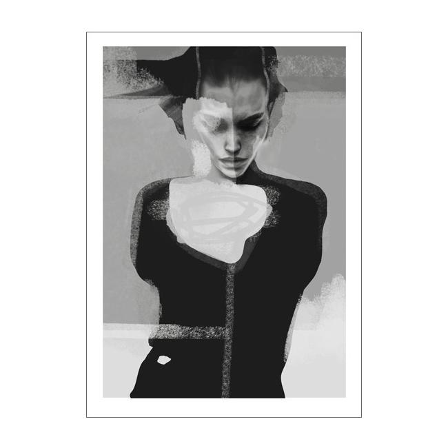 Bilde av Anna Bülow-Implode Poster 50x70cm
