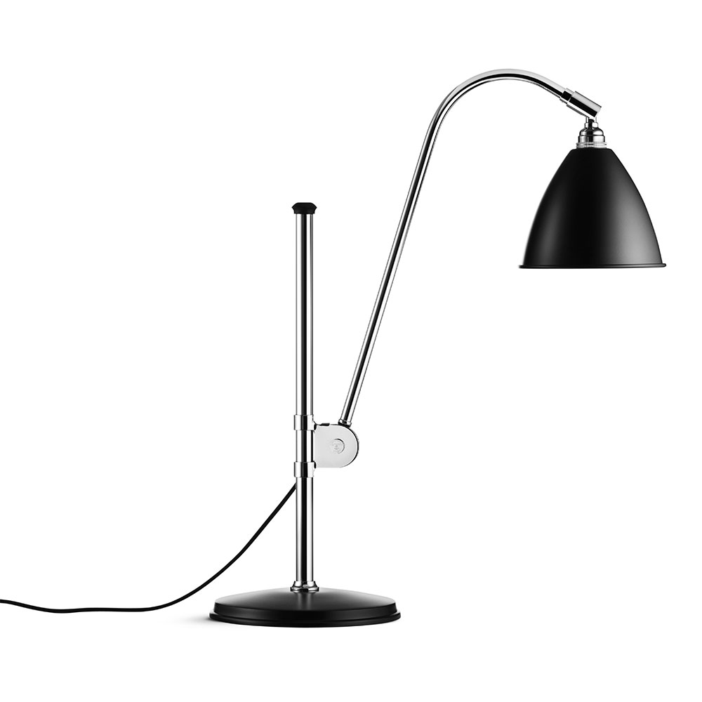Bilde av Gubi-Bestlite BL1 Bordlampe, Krom/Sort