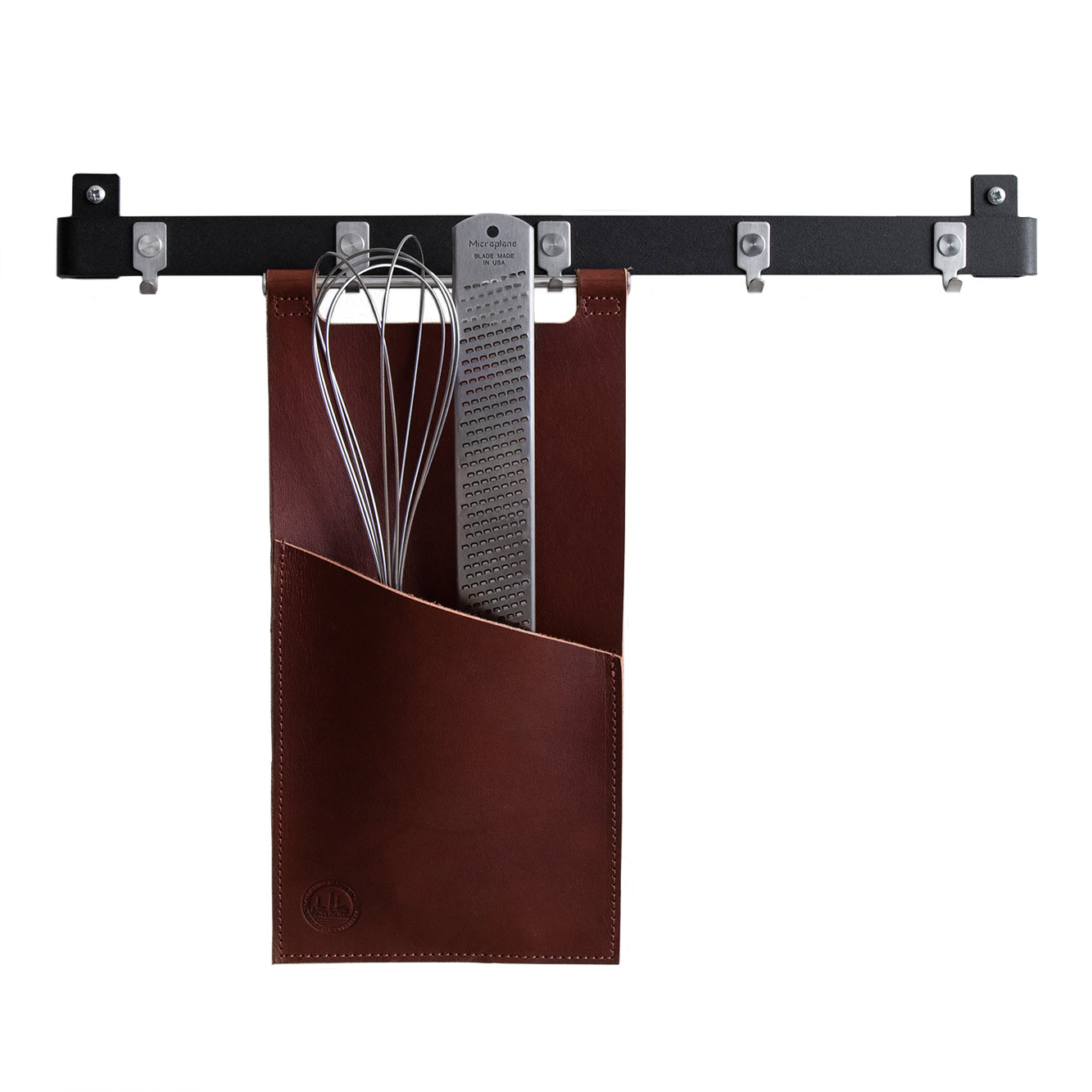 Image of Scandinavian Design Factory-Tasche für Küchenutensilien 30x15cm, Braun