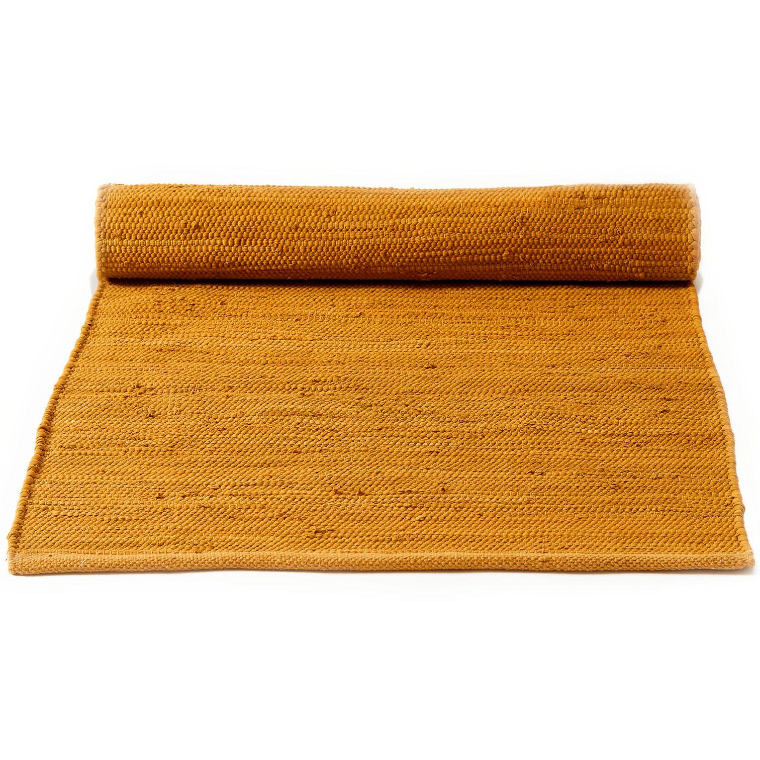Bilde av Rug Solid-Cotton Gulvteppe 60x90, Burnish Amber