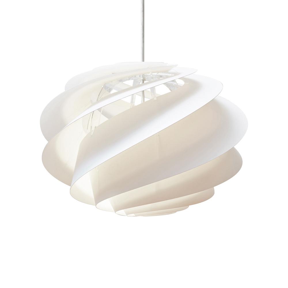 Swirl 2 Lampe, Large, Hvit Le Klint @ RoyalDesign.no