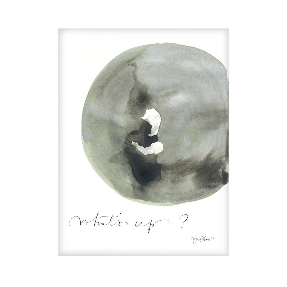 Bilde av Ylva Skarp-Whats Up Poster 30x40 cm
