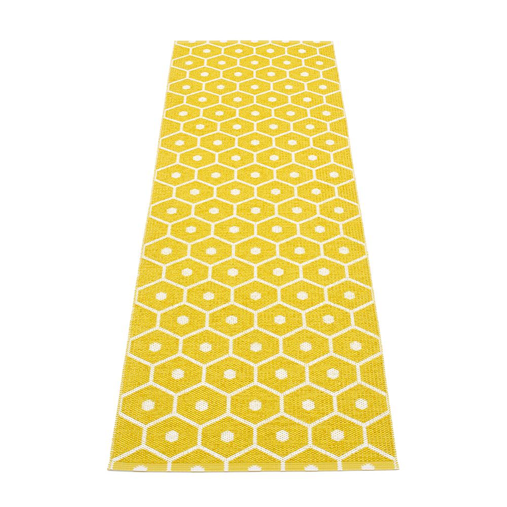 Pappelina-Honey Gulvtæppe 70x100 cm, Mustard/Vanilla