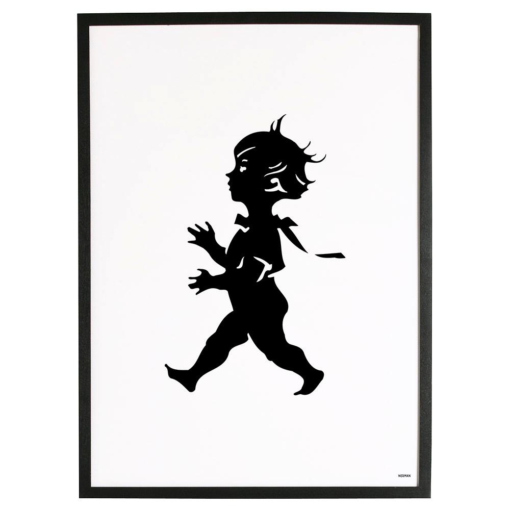 Solstickan Poster 50x70 cm, Vit