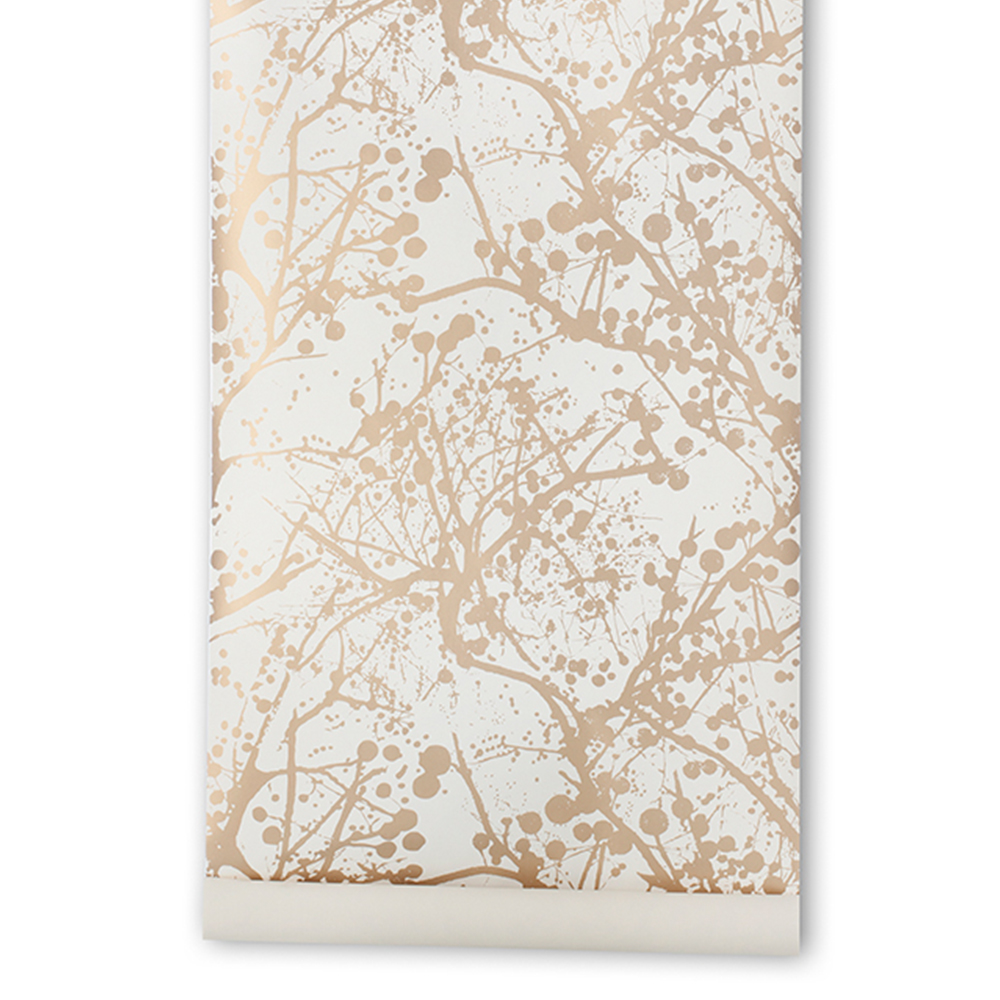 Image of Ferm Living-Wilderness Tapete, Gold