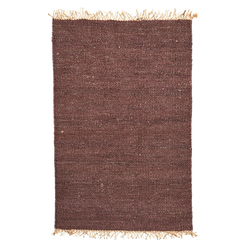 Rama Teppich 200x140cm, Braun