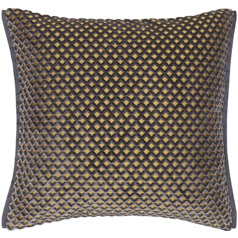 Designers Guild-Portland Graphite Cushion 43x43 cm