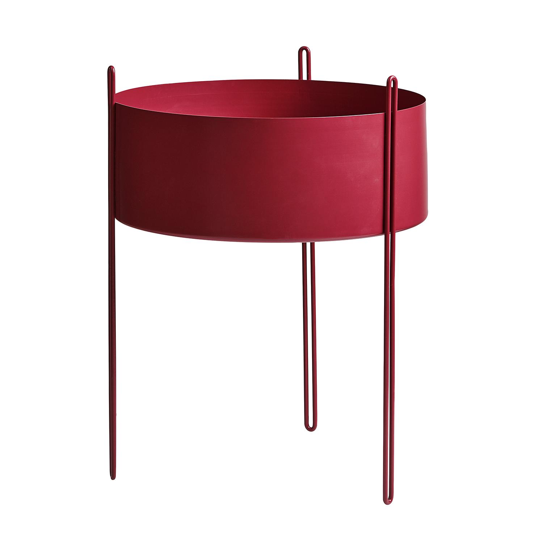 Alvorlig Pidestall Plantekasse L, Rød - Woud @ RoyalDesign.no ZG-32