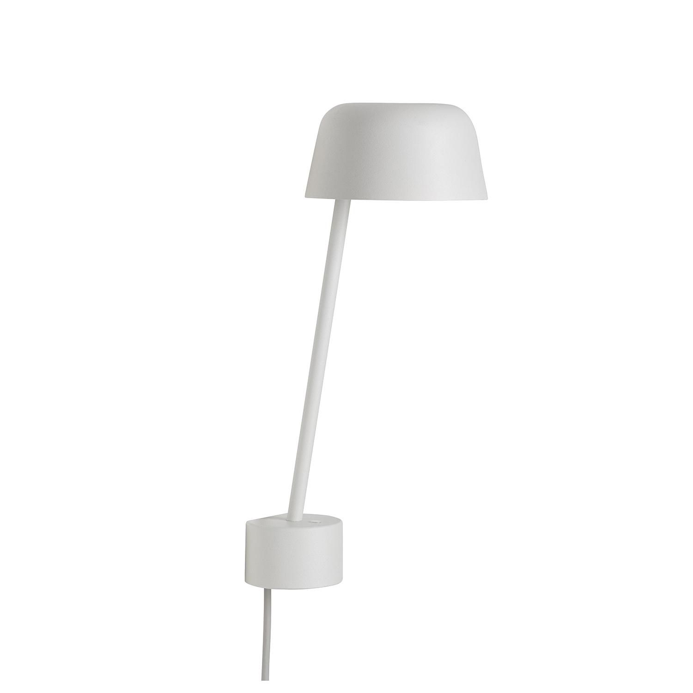 Lean Vägglampa, White